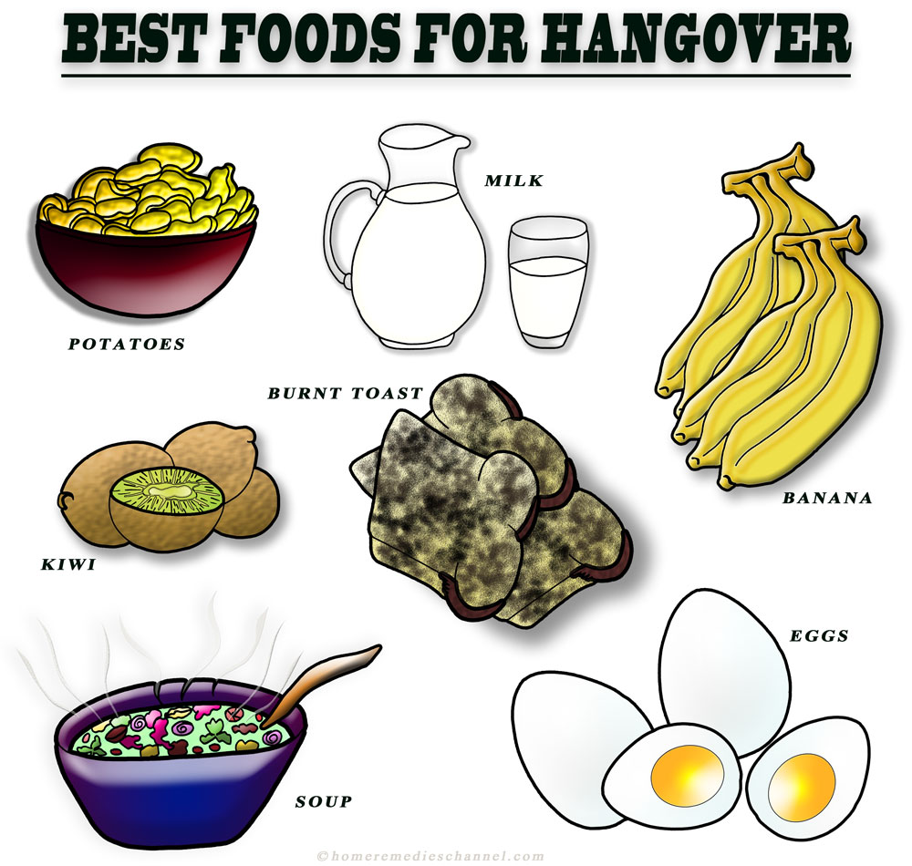 Best Foods To Eat To Cure A Hangover