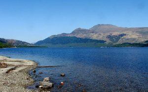 Loch Lomond in January